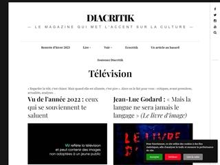 Diacritik : Télévision