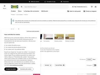 IKEA : Lits et matelas