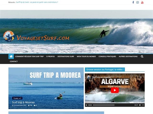 VoyagesetSurf.com
