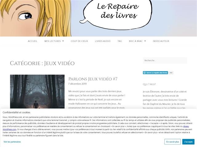 Le Repaire des Livres : Jeux Vidéo
