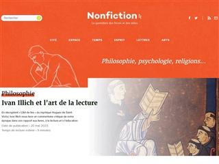 Non Fiction : Philosophie