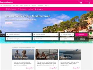 Lastminute.com : Croisières