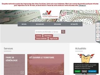 Val d'Oise (95) - Archives départementales