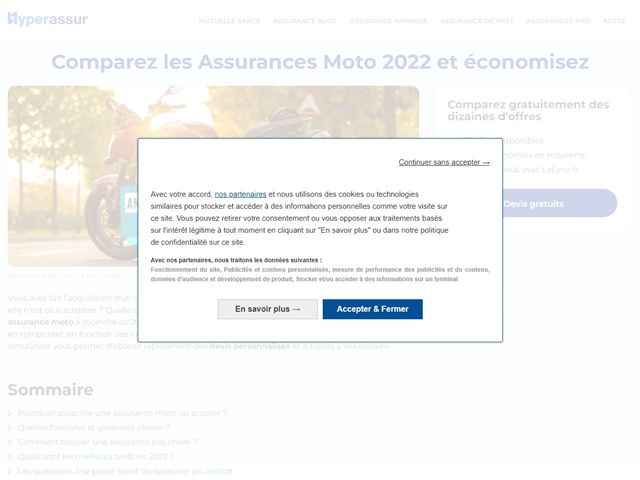 Hyperassur : Assurance moto