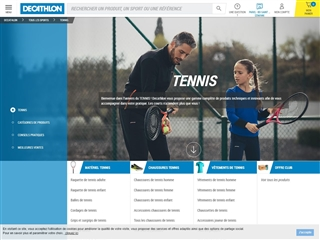 Decathlon : Tennis