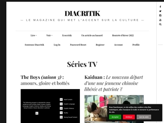 Diacritik : Séries Télé