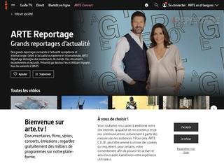 Arte.tv : Vidéos - Arte Reportage