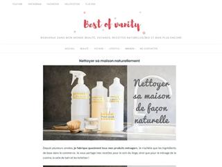 Best of Vanity : Recettes d'Entretien de la Maison