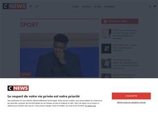 Cnews Matin : Sport