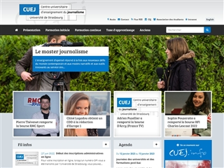 Centre universitaire d'enseignement du journalisme (CUEJ)