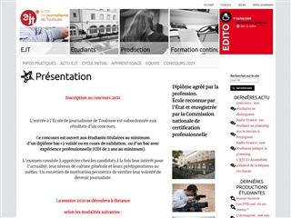 École de journalisme de Toulouse (EJT)