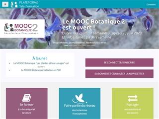 Plateforme MOOC de Tela Botanica