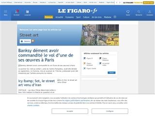 Le Figaro : Street art