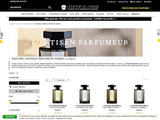 Comptoir de l'Homme : L'Artisan Parfumeur