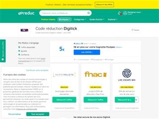 Ma-reduc.com : Digitick