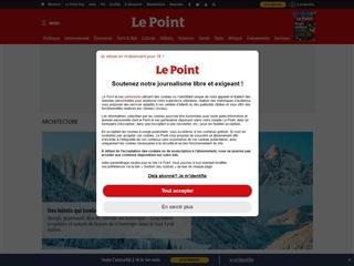 Le Point : Architecture