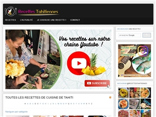 Recettes Tahitiennes