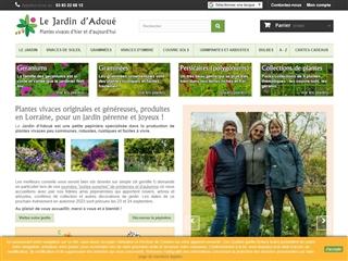 Le jardin d'Adoué