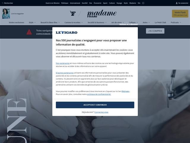Le Figaro Madame : Beauté