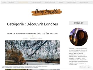 Being Missflo : découvrir Londres