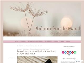 Phénomène de Maud : Bio, Ecolo, Respect de la Planète