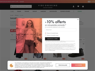 Videdressing.com : Lacoste