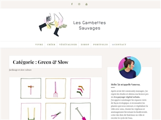 Les Gambettes Sauvages : Green & Slow