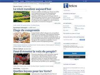 Telos : Politique Française