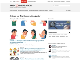 The Conversation : Junior