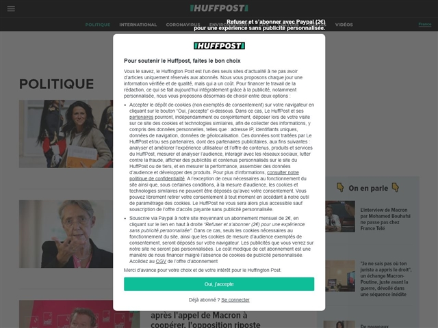 Huffington Post : Politique
