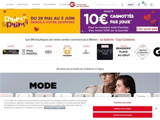 Centre commercial Cap Costières