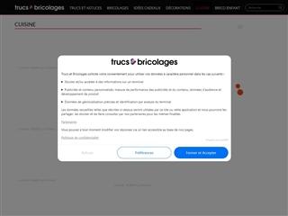 Trucs & Bricolages : Cuisine