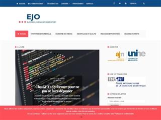 Observatoir européen du journalisme (EJO)