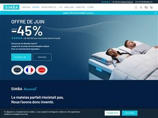vente en ligne de literie. Black Bedroom Furniture Sets. Home Design Ideas