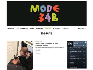 Mode 34B : Beauté