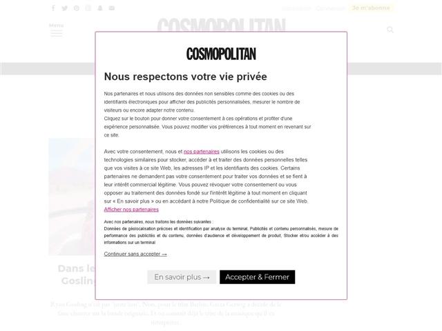 Cosmopolitan : Cinéma