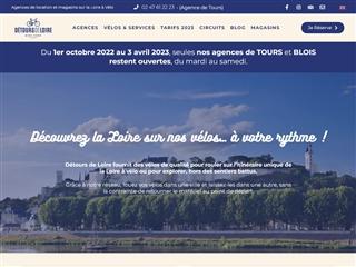 Détours de Loire - Locations de vélos