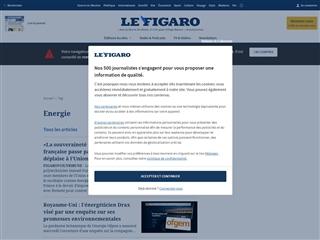 Le Figaro : Energie