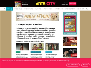 Arts in the City : Expositions Attendues