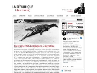 Pierre Assouline - La république des livres