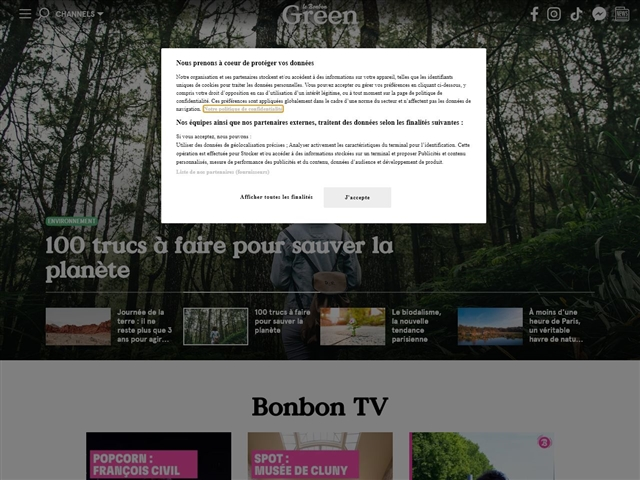Le Bonbon : Green