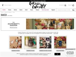 Galeries Lafayette : Gucci