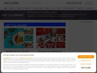 Arch'zine : Art Culinaire