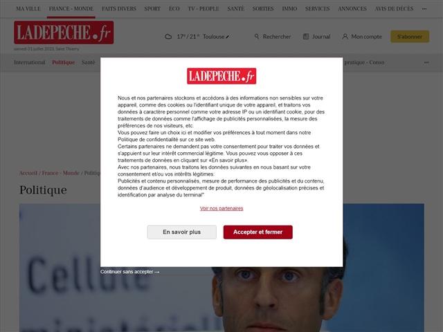 La Dépêche du Midi : Politique