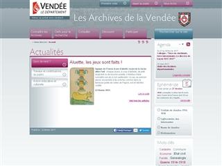 Vendée (85) - Archives départementales