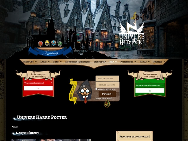 Univers Harry Potter