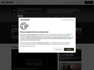 Dailymotion : Grand Palais