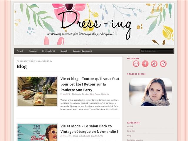Dress-ing : Vie et Blog
