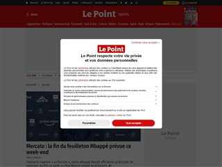 Le Point : Sport