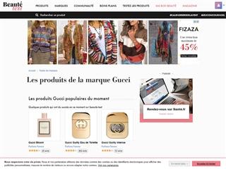 Beauté-Test : Gucci